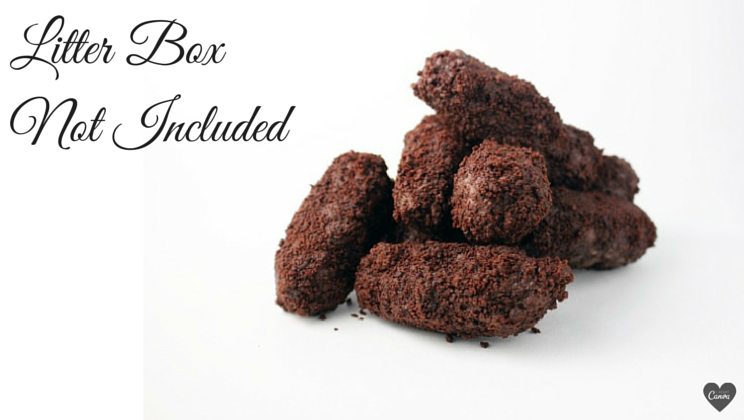 Because nothing says love like cat poop truffles